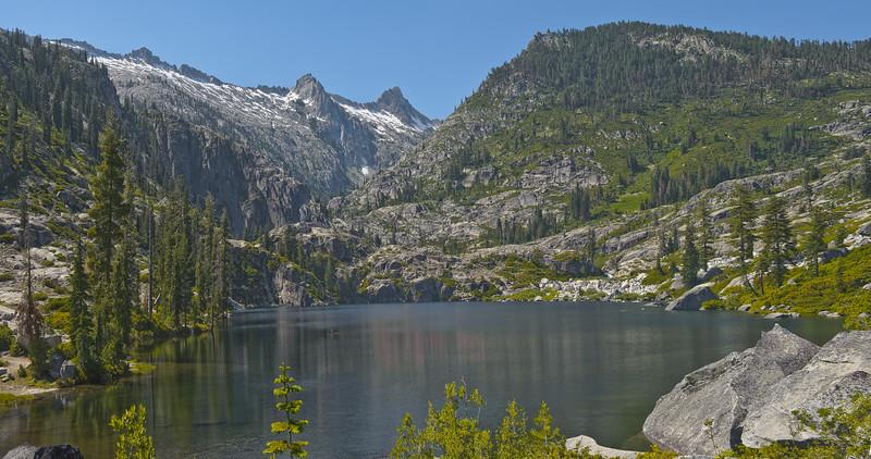 Lower Canyon Creek Lake - Trinity Alps Wilderness