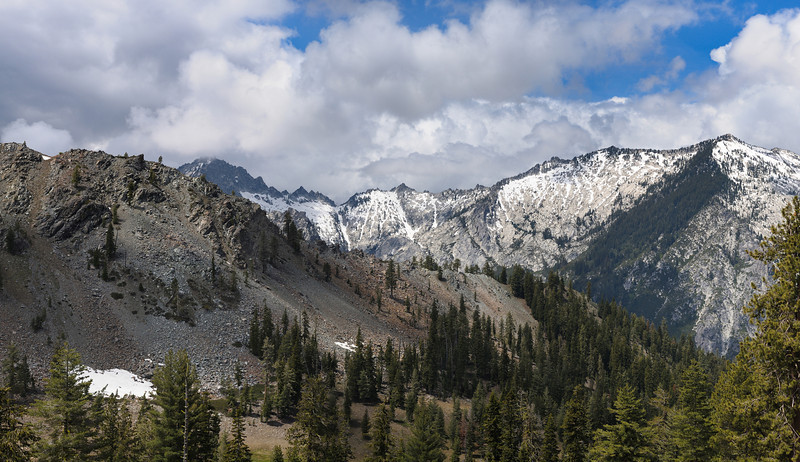 Near Sunrise Pass - Trinity Alps Wilderness