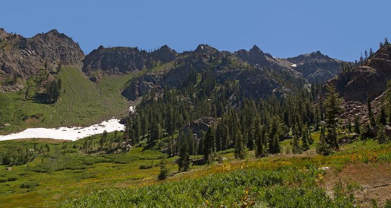 Upper Bear Basin & Seven Up Peak