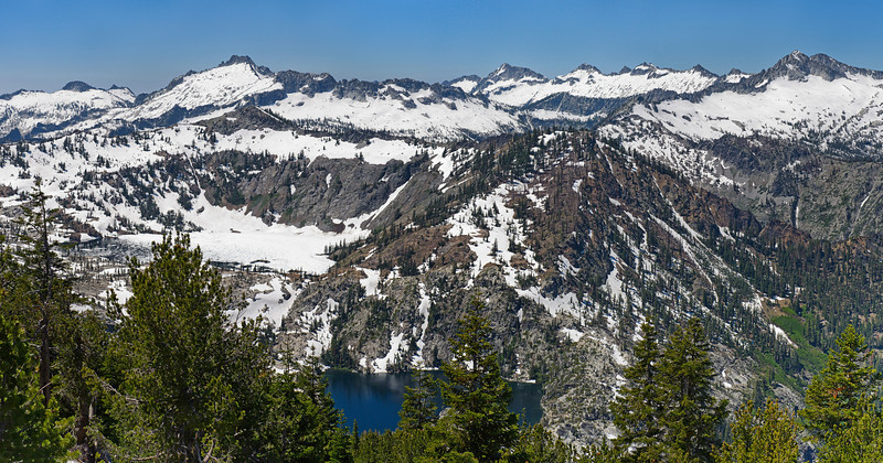 Caribou Lakes Basin - Trinity Alps Wilderness