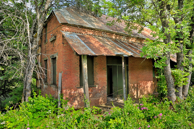 Abandoned Home & Brewery in Helena - North Fork Trinty River.  Built around 1860 by Harm Schlomer