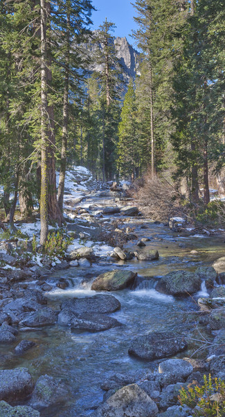 Autumn Day along Canyon Creek - Trinity Alps Wilderness