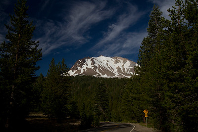 Lassen Peak from road IMG_9081