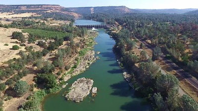 3-dam upstream on the Feather River