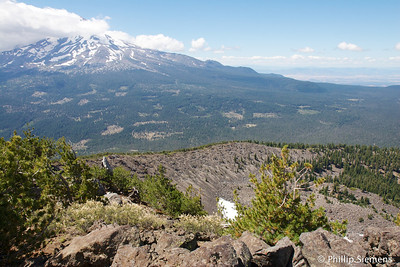 Shasta from Ash Creek Butte