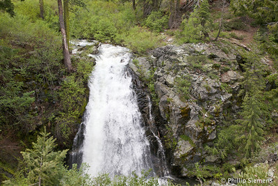 Falls on Little Jamison Creek