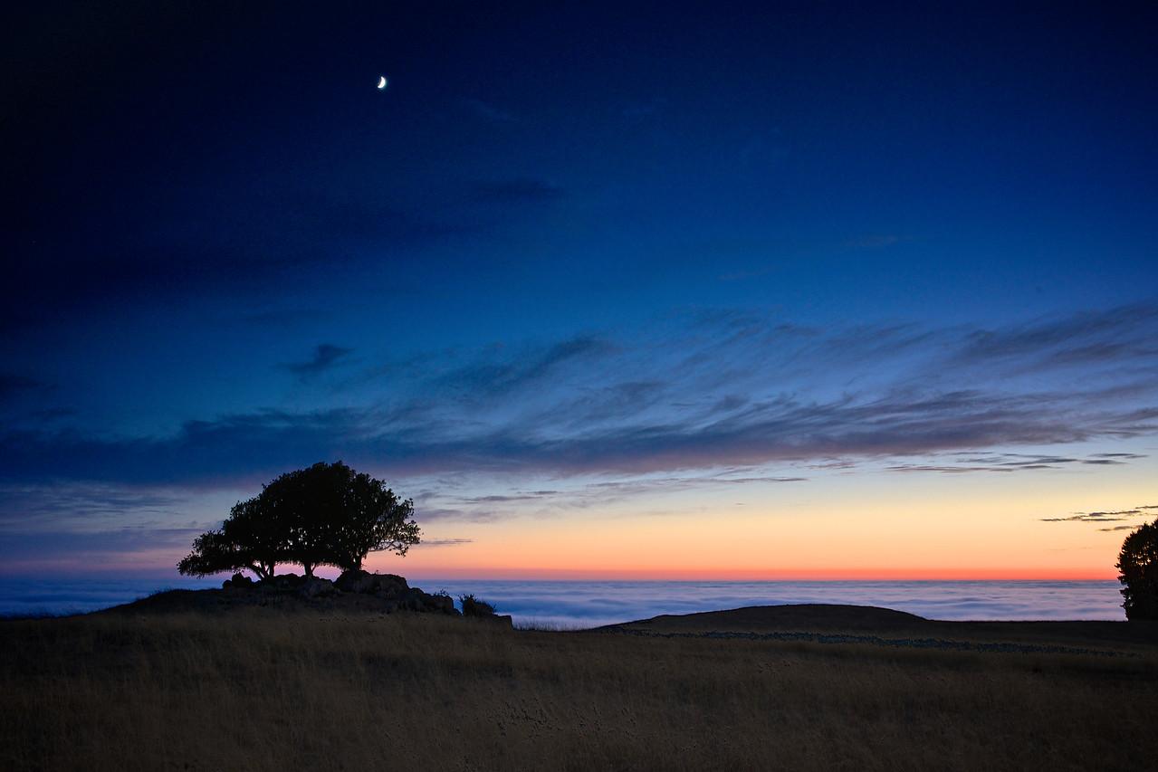 Sunset Jenner Headland