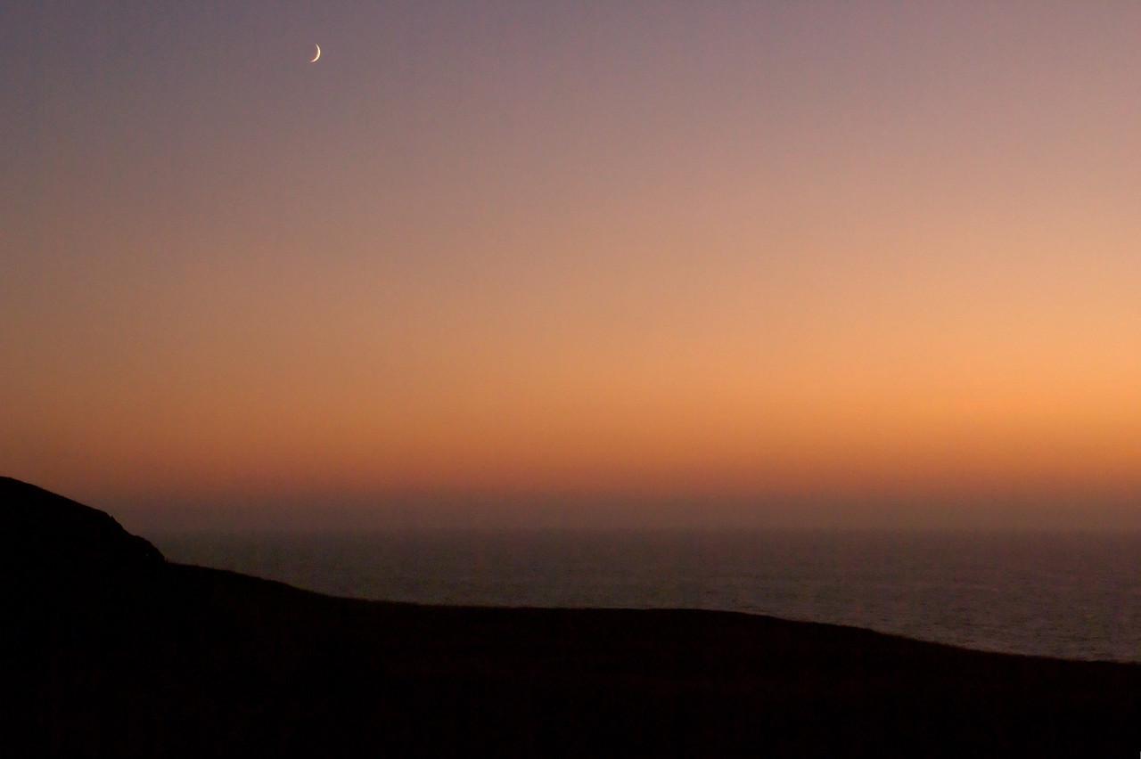 sunset navarro point