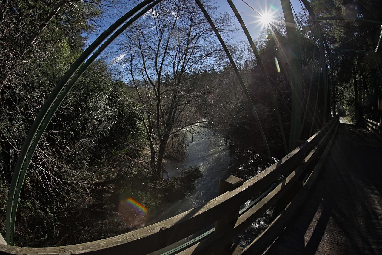 North Fork Gualala River From Green Bridge