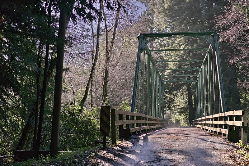Green Bridge North Fork Gualala River