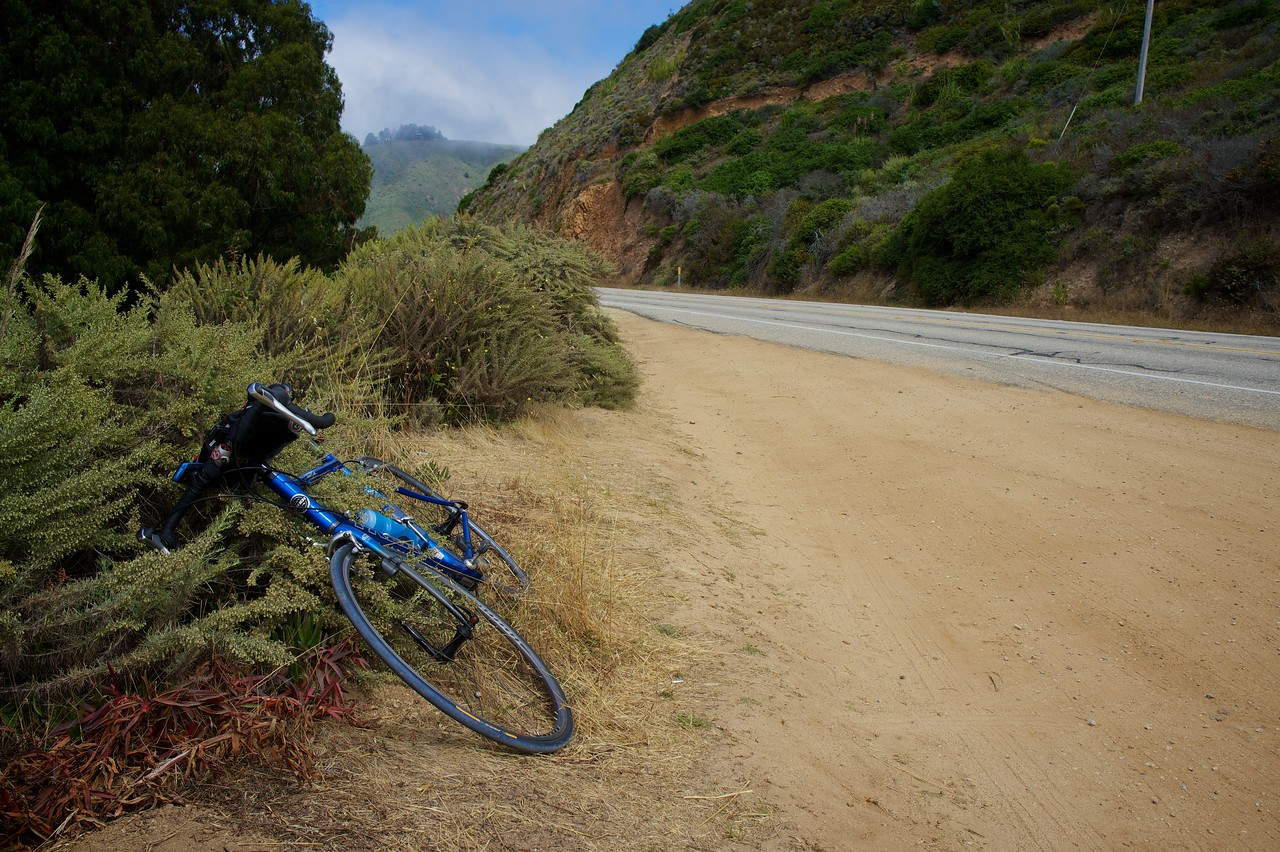 Cycling from Monterey to Carpinteria