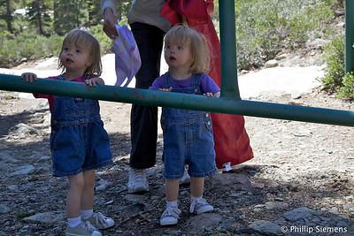 Post hike: Elizabeth and Carolyn