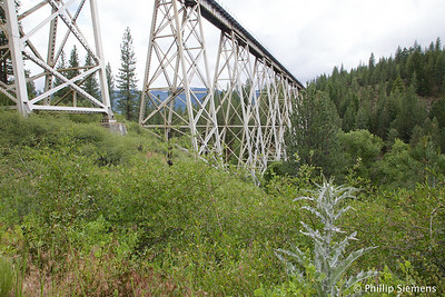 ...a long, tall trestle. Lots of interesting railroad stuff in the area.
