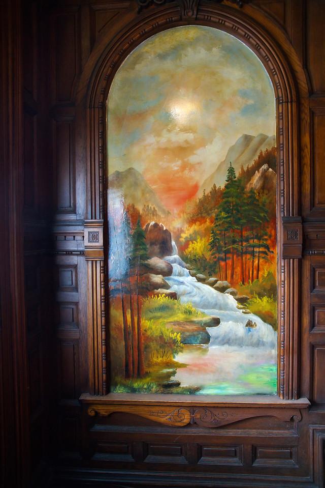Illuminated panel Nobby Clarke Mansion