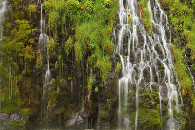Mossbrae Falls, Summer Dunsmuir California