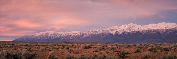 White Mountain Sunset, Bishop, California