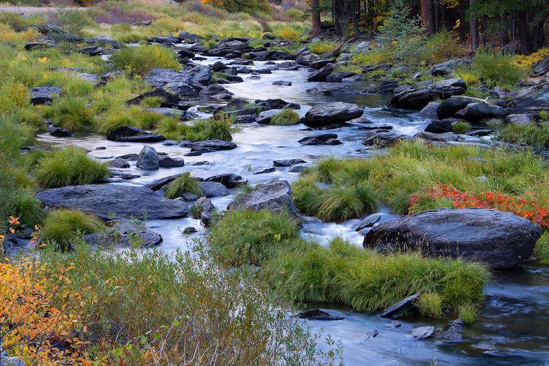 Feather River, Evening Plumas County California
