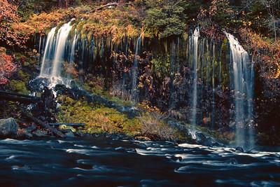 Mossbrae Falls - I Dunsmuir California
