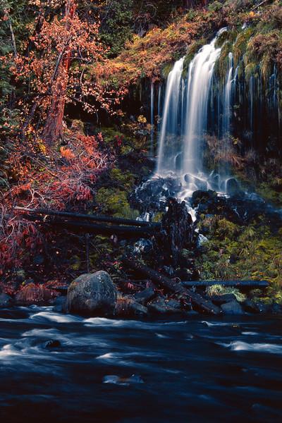 Mossbrae Falls - II Dunsmuir California