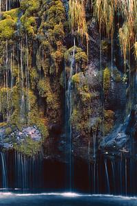 Mossbrae Falls - III Dunsmuir California