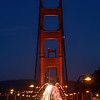 Golden Gate evening traffic I
