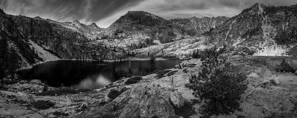 Upper Canyon Creek Lake, Trinity Alps