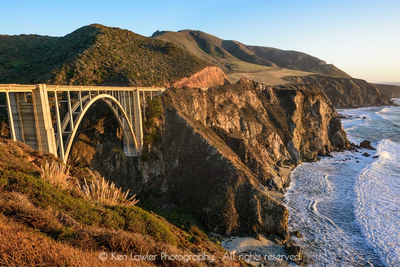 Bixby Creek Bridge at sunset