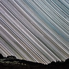 Star Trails over Granite Lake, Trinity Alps