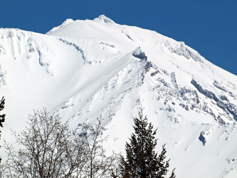 Mt Shasta closeup