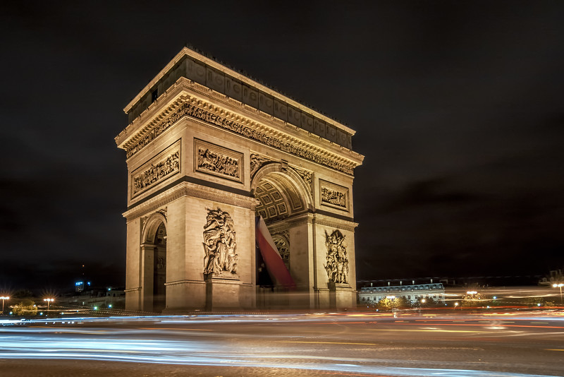 France, Paris - Arc de Triomphe