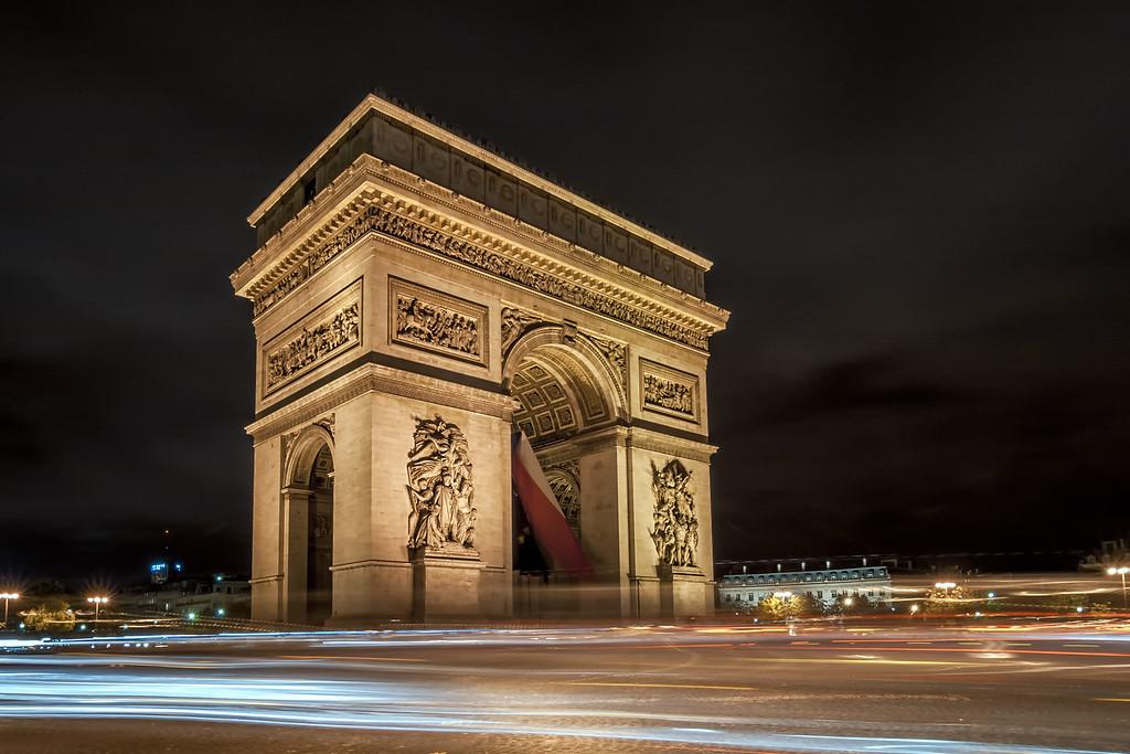 France, Paris - Arc de Triomphe