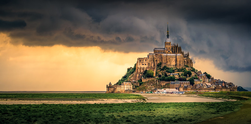 France, Mont Saint Michel