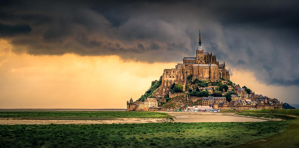 France, Mont Saint Michel