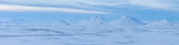 Northern Iceland winter Pano - 1