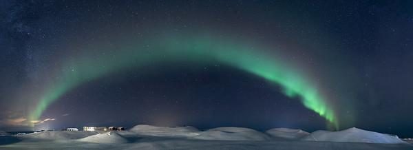 Myvatn Aurora - Pano 1