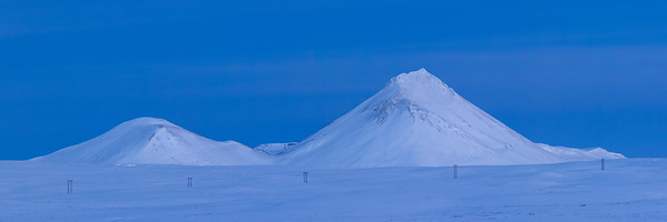 Morning Mountain Pano - Myvatn