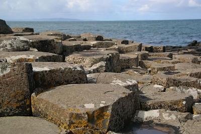 Hexagonal blocks on the Giant's Causeway
