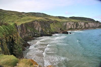 Cliffs at Carrick-an-Rede
