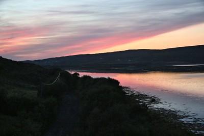 Sunset at Streamstown Bay