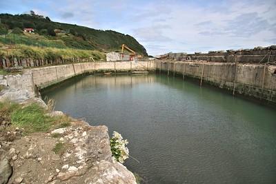 White Harbour under repair