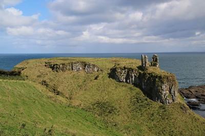 Remains of Dunluce Castle
