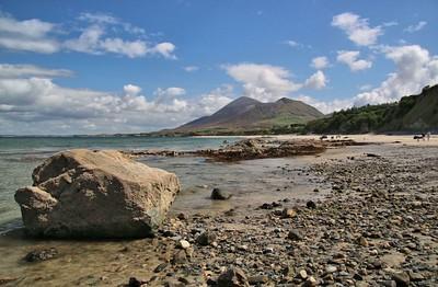 Old Head Beach and Croagh Patrick