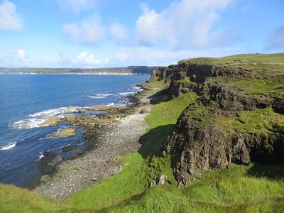 Cliffs on Rathlin Island
