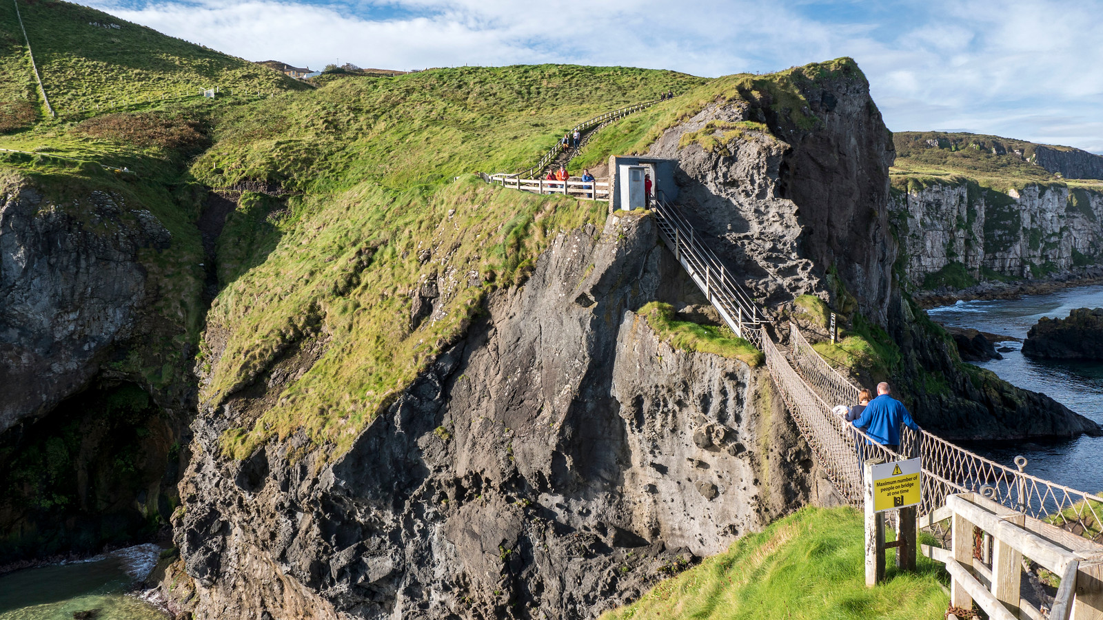Where to Go in Northern Ireland: Carrick-a-Rede Rope Bridge