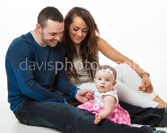 Gary, Colleen + Little Katie