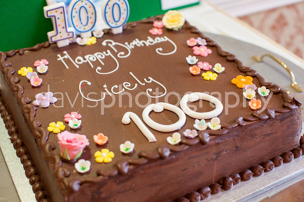 Mrs Gordons Mothers 100th Birthday Party