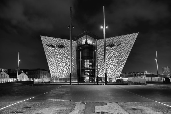 Titanic Building at Night