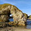 Arch Rock Ballintoy Coast, County Antrim, Northern Ireland
