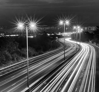 Motorway to Belfast