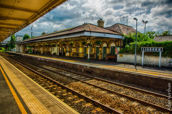 Lisburn Train Station